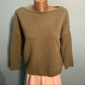 Zara oversized knit sweater